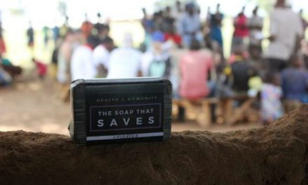 This soap can save lives.