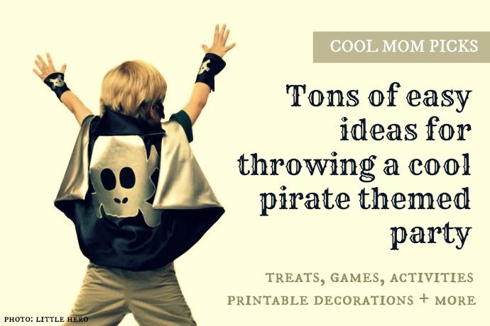 Tons of easy pirate party ideas, because every day should be Talk Like a Pirate Day.