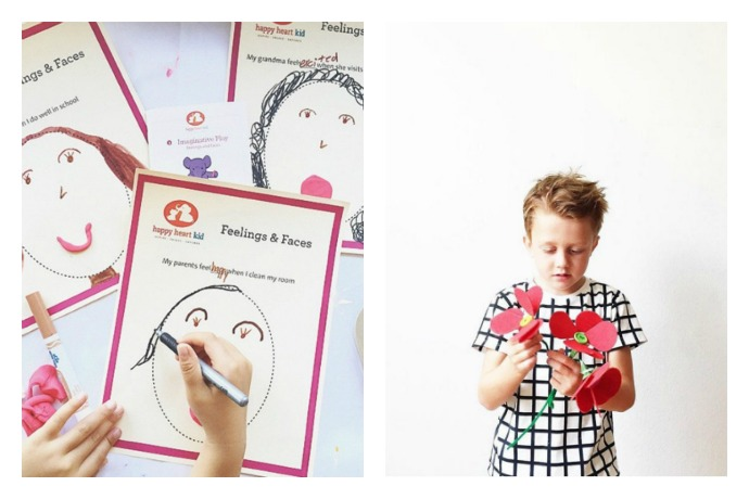 Happy Heart Kids: fun, easy, educational craft kits that teach kindness and empathy.