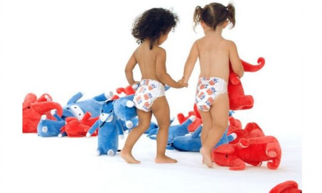 Honest election diapers for bipartisan babies