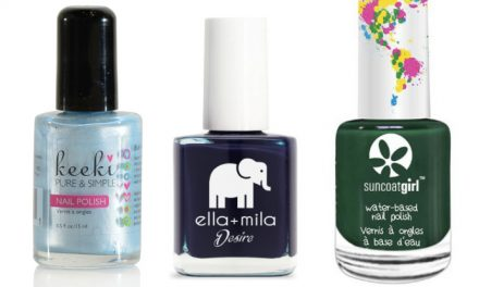 The best non-toxic nail polish brands for kids, in colors we can wear too.
