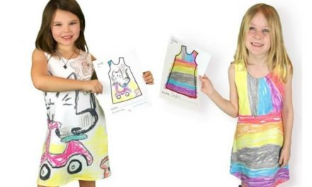 The hottest new designer for kids is… your kid. Eat your heart out, Stella McCartney!