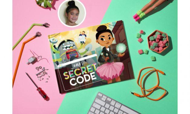 Secret Code: A customizable children's book to help you raise tech-savvy, confident girls.