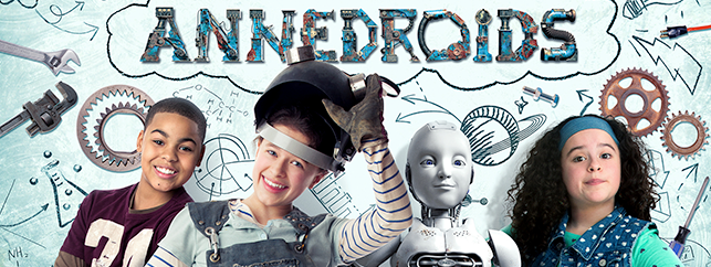 TV shows for tweens: Annedroids on Amazon Prime