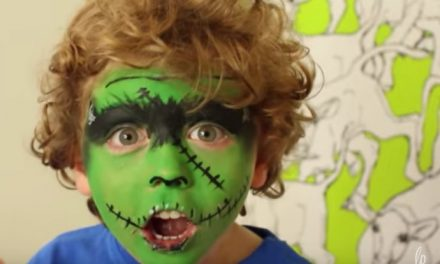 Down with masks! 7 quick, easy face paint tutorials for kids this Halloween