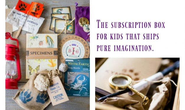 The subscription box for kids that ships pure imagination