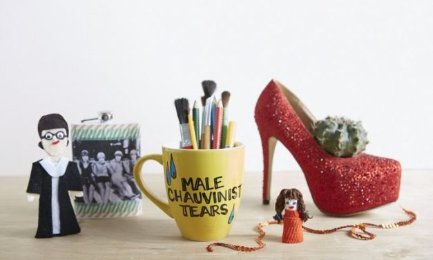 Crafting with Feminism: Smashing the patriarchy with a hot glue gun.