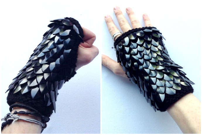 Dragon Gloves: The edgy new trend we're loving for Halloween.