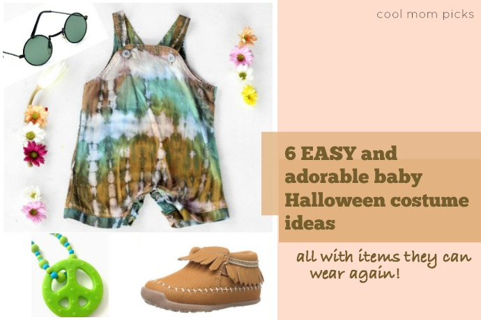 6 adorably easy Halloween costumes for babies all from items they can wear again. Yay for that!