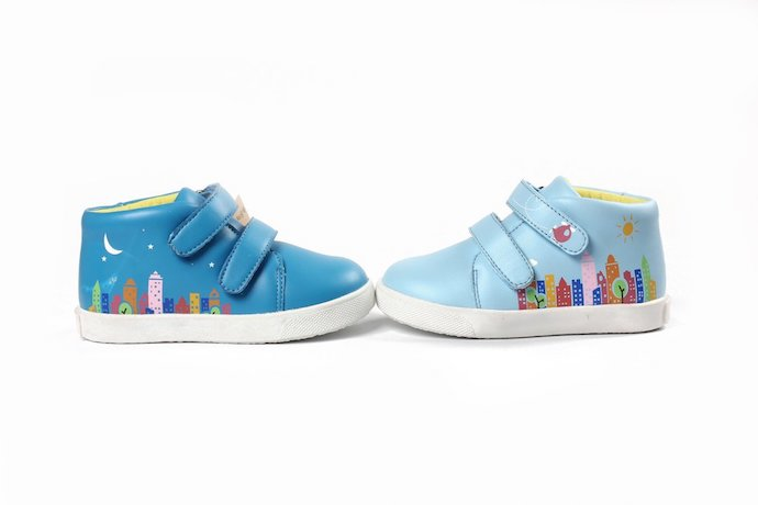 George and Georgette's cool kids shoes have an even cooler social mission