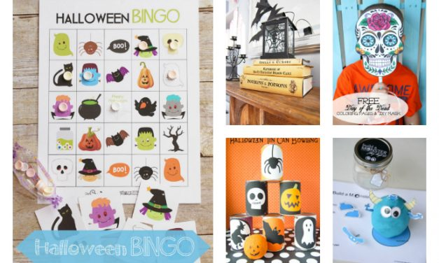 15 of the best free Halloween printables for kids. Even better than candy.