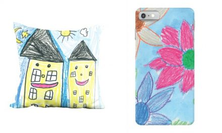 Plum Print will digitize your kid's artwork and turn it into keepsakes you'll love. Hooray for custom holiday gifts!