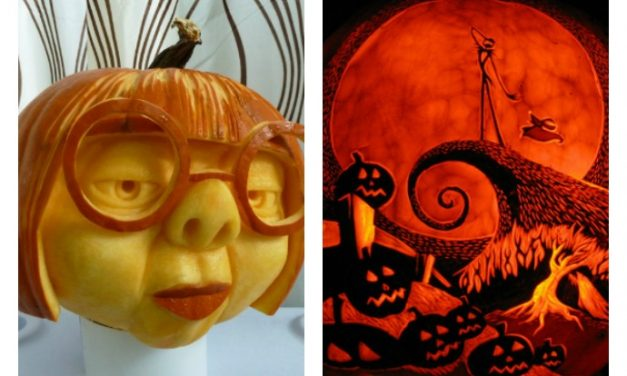 The 13 most outrageously awesome carved pumpkins you just have to see. Because, whoa.