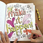 Art With Edge coloring books for tweens and teens makes coloring in the lines cool again.