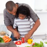 10 essential kitchen safety rules to set, that keep little cooks safe in the kitchen.