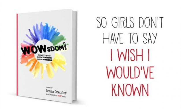This new book for girls has us shouting, WOW!