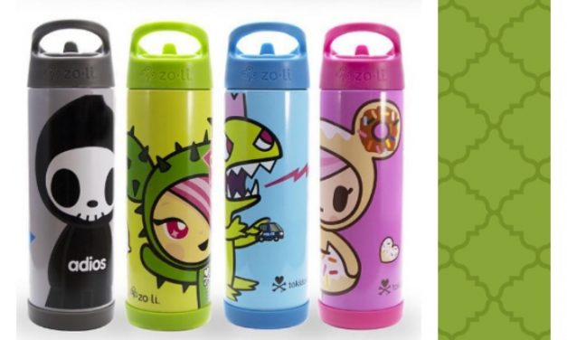 Share a drink with a kaiju, thanks to this awesome Tokidoki x ZoLi collaboration.