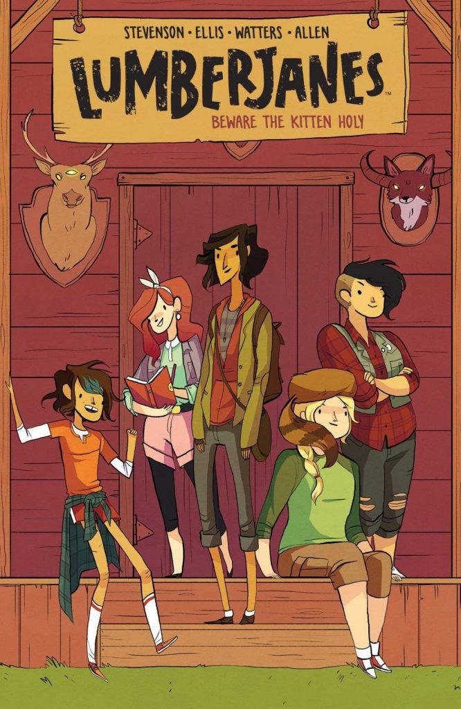 Girl power graphic novels: Lumberjanes