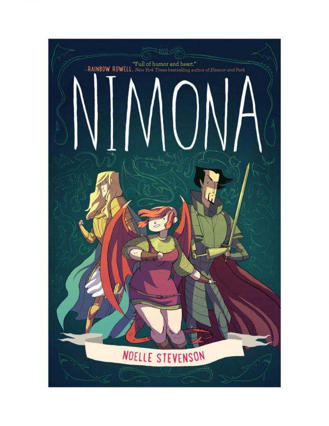 Girl power graphic novels: Nimona