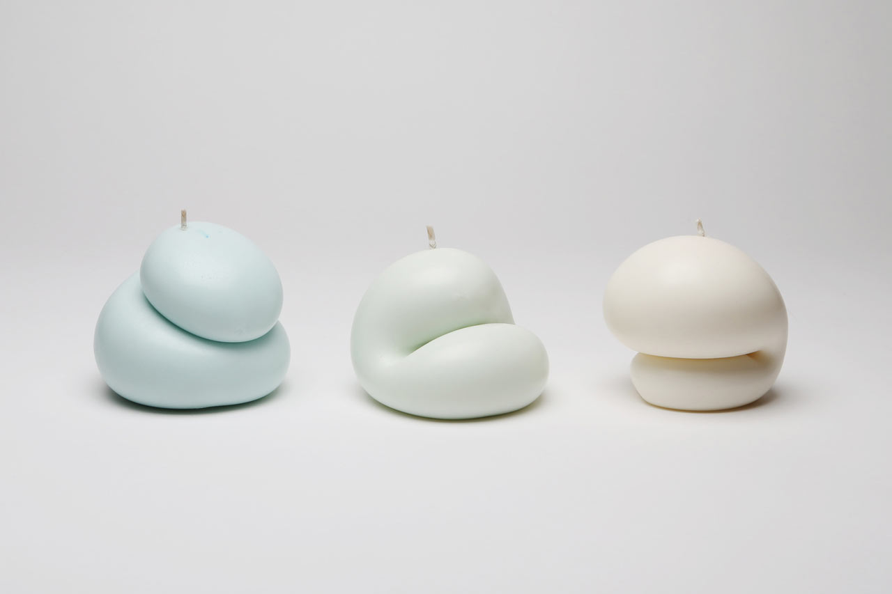 Free form custom scented candles from Talbot & Yoon