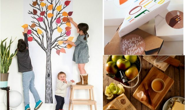 The last-minute Thanksgiving help: Everything you need including recipe help, drinks, decor, printables + crafts for the kids. No go forth and be thankful!