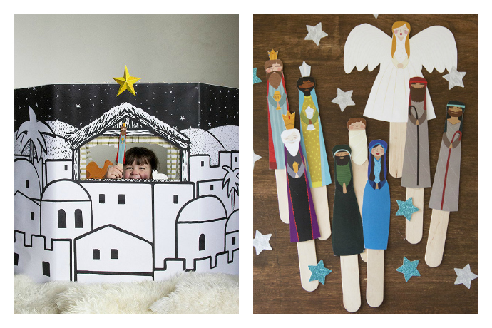 6 unexpected nativity sets your kids can actually play with