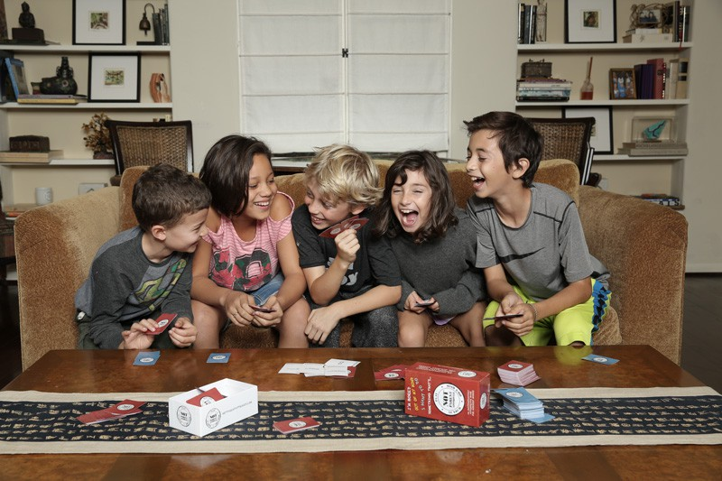 Not Parent Approved: Like Cards Against Humanity…for kids.