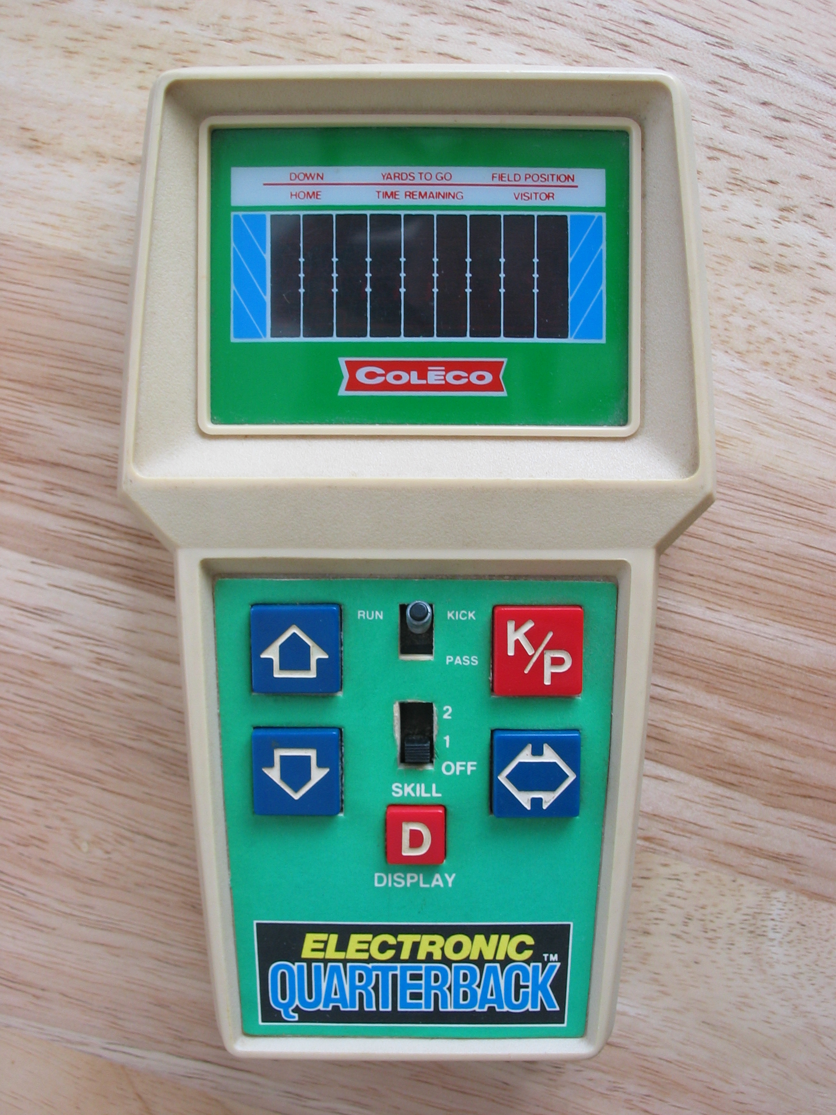 Coleco Electronic Quarterback: One of our favorite holiday gifts from our own childhoods.
