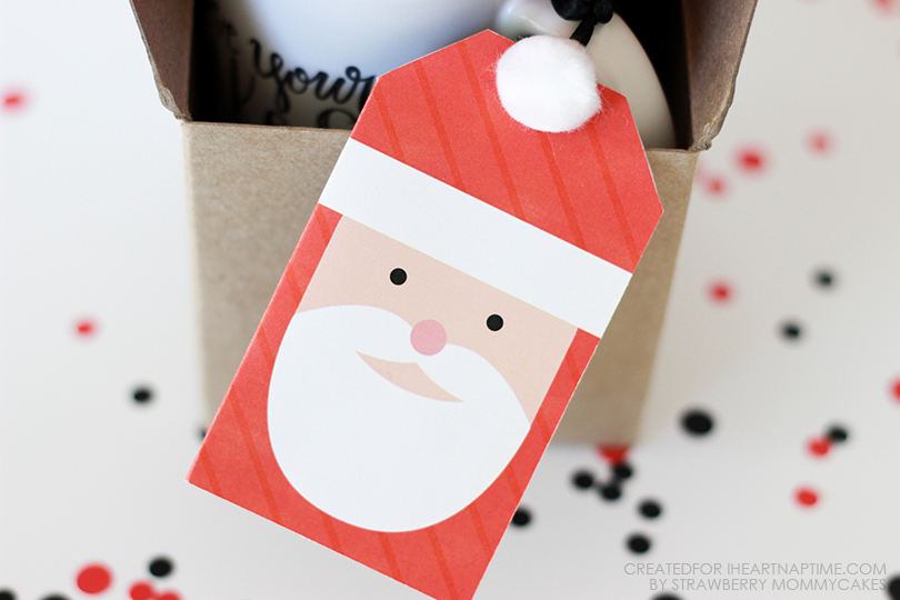 Can't go wrong with the double-sided Free Printable Santa Gift Tags at I Heart Naptime.