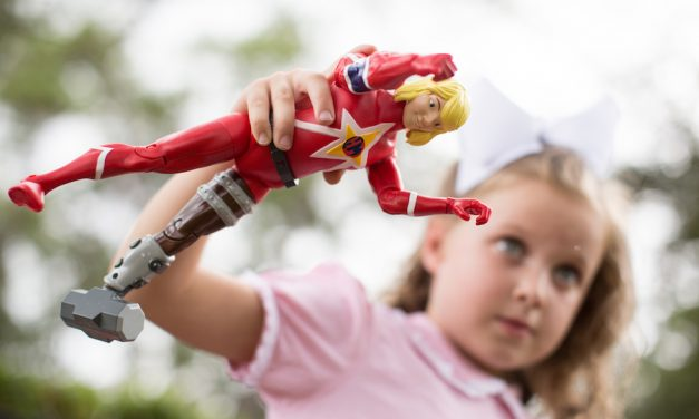 Custom superhero action figures for kids with imagination