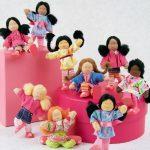 Diverse, interracial dollhouse families: Reader Q&A