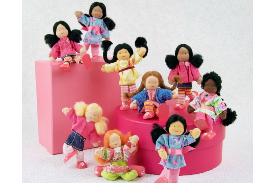 Diverse, interracial dollhouse families: Reader Q&A