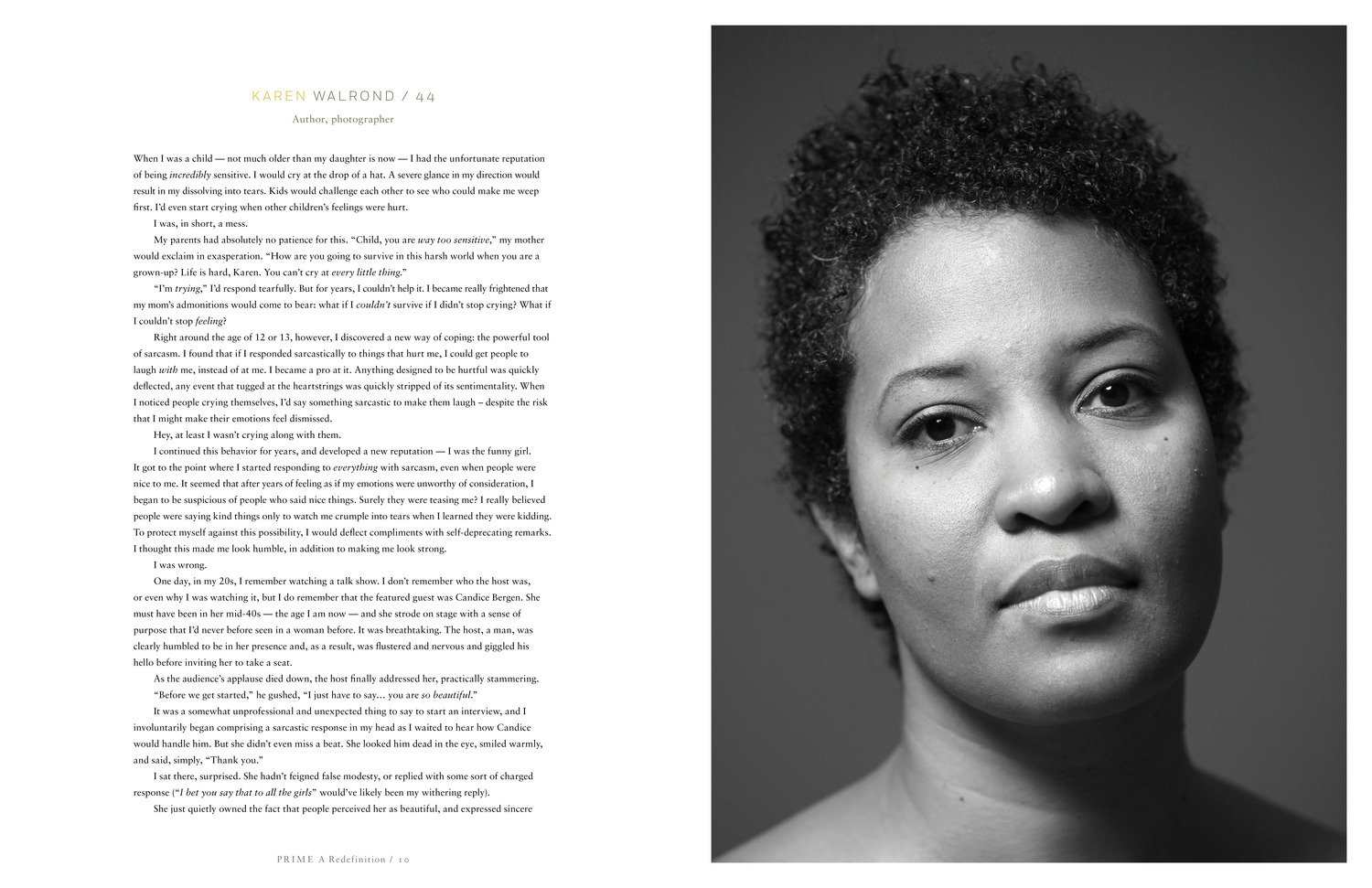 Karen Walrond: One of the unretouched, powerful, inspiring women photographed for Peter Freed's Prime