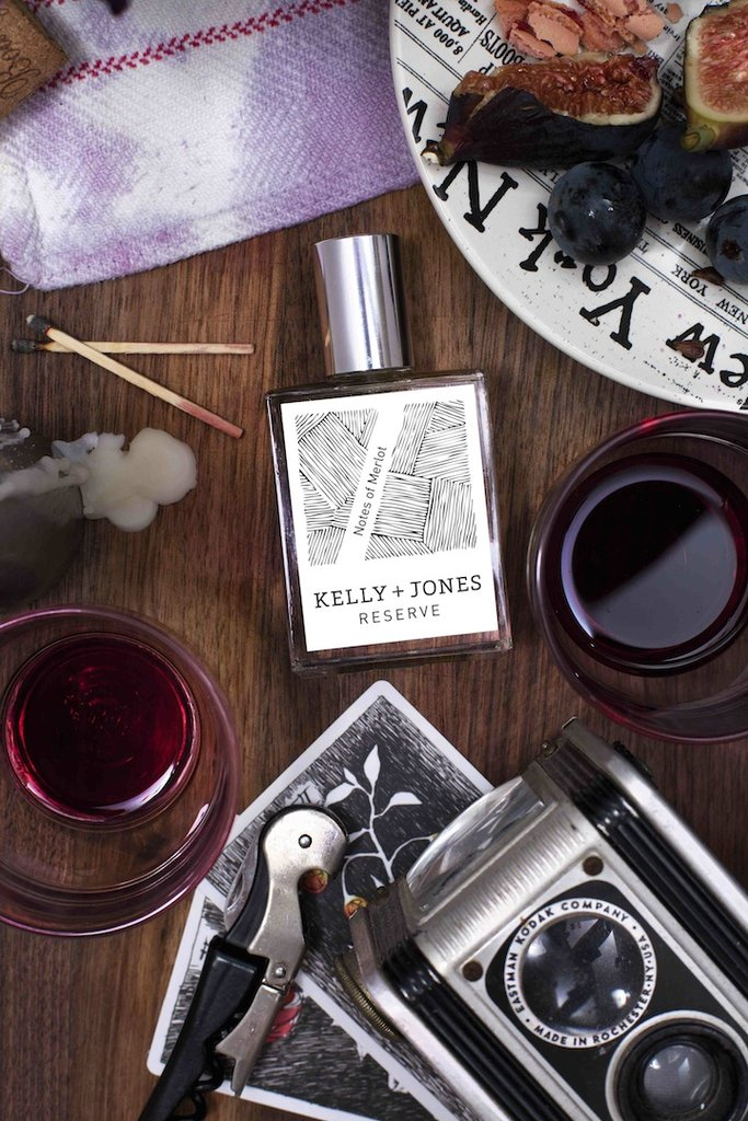 Kelly + Jones fragrances capture the notes of good Napa wines | Cool Mom Eats 2016 Holiday Gift Guide