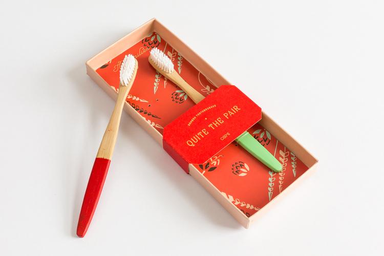 Odeme Toothbrush sets: Great beauty stocking stuffers