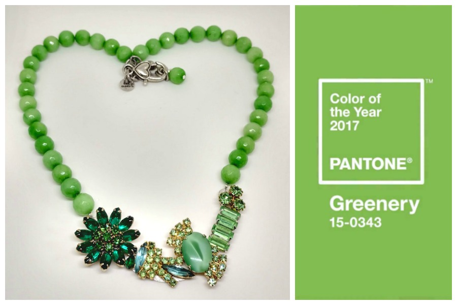 How to wear Greenery, Pantone's 2017 color of the year: 3 glam accessories we love.