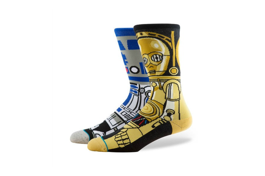 The perfect stocking stuffer is…more stockings. If they're these rad Star Wars socks.