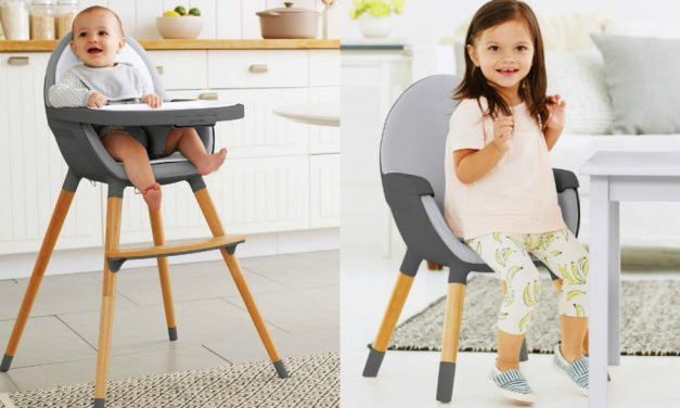 Finally: an affordable convertible high chair that looks like it should cost way more.