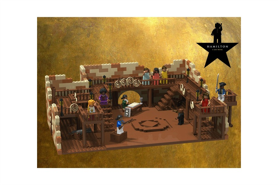 A Hamilton Musical LEGO set: Do not throw away your shot to vote for this!