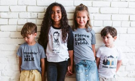 The hip, historical t-shirts for kids we're obsessed with right now