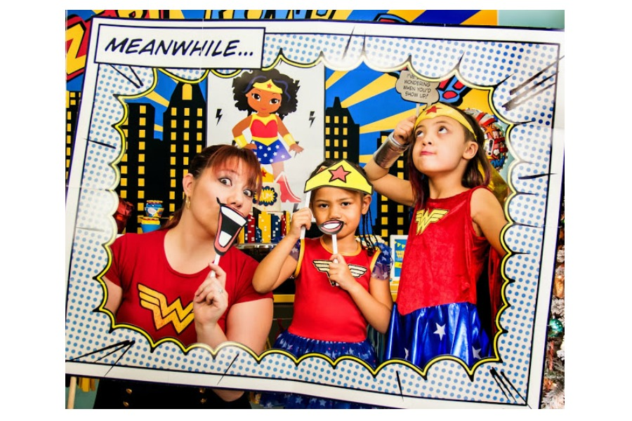 Pow! 6 superhero party themes for girls that really pack a punch.