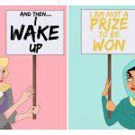 9 genius art prints that reimagine Disney princesses as woke AF
