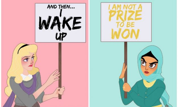 9 genius art prints that reimagine Disney princesses as woke AF