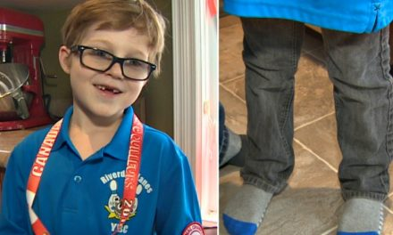 A sweet 7 year old stripped of his bowling medal for the craziest reason. What is going on?