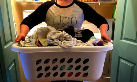 One quick laundry tip that will save you loads (ha!) of time