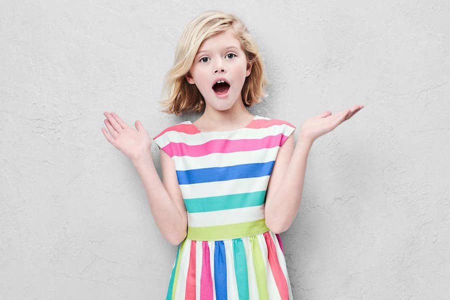 7 stylish rainbow dresses for girls in time for Easter, spring and summer