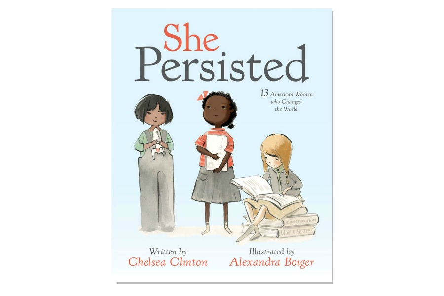 She Persisted: Chelsea Clinton's new children's book becomes a best-seller in one day.
