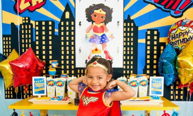Pow! 20+ supergirl (or supervillain) birthday party ideas that really pack a punch.
