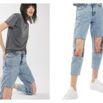 People are leaving hilarious reviews of the Clear Knee Mom Jeans and we can't stop laughing