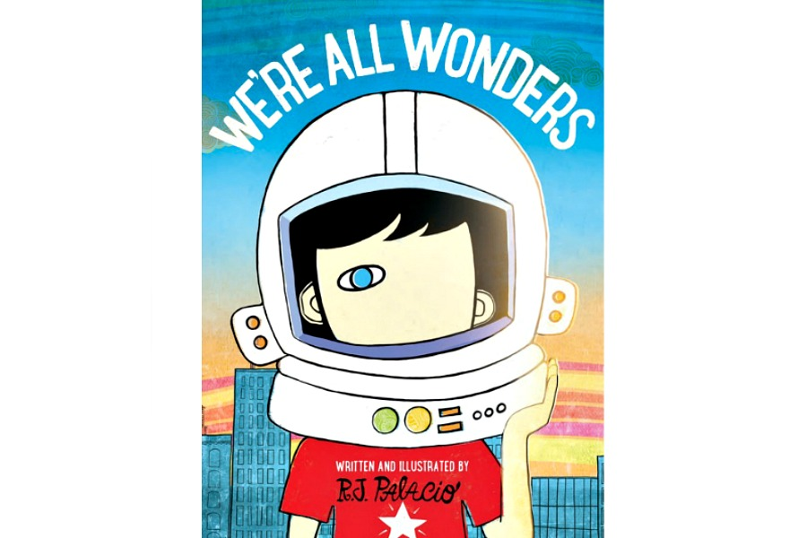We're All Wonders: R.J. Palacio shares Auggie's message with younger children.